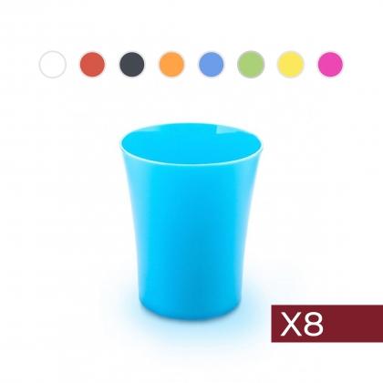 Combo 1: 8 Vasos de 350ml