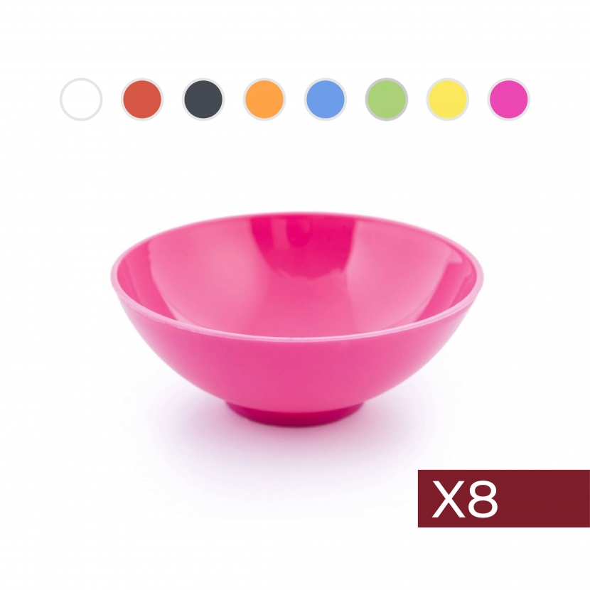 Combo 2: 8 Bowls redondos...